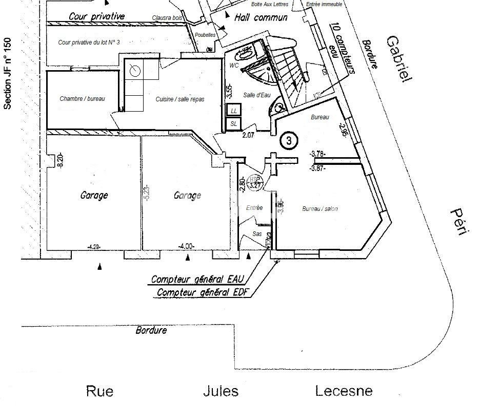 Bureau à louer 0 60m2 à Le Havre vignette-2