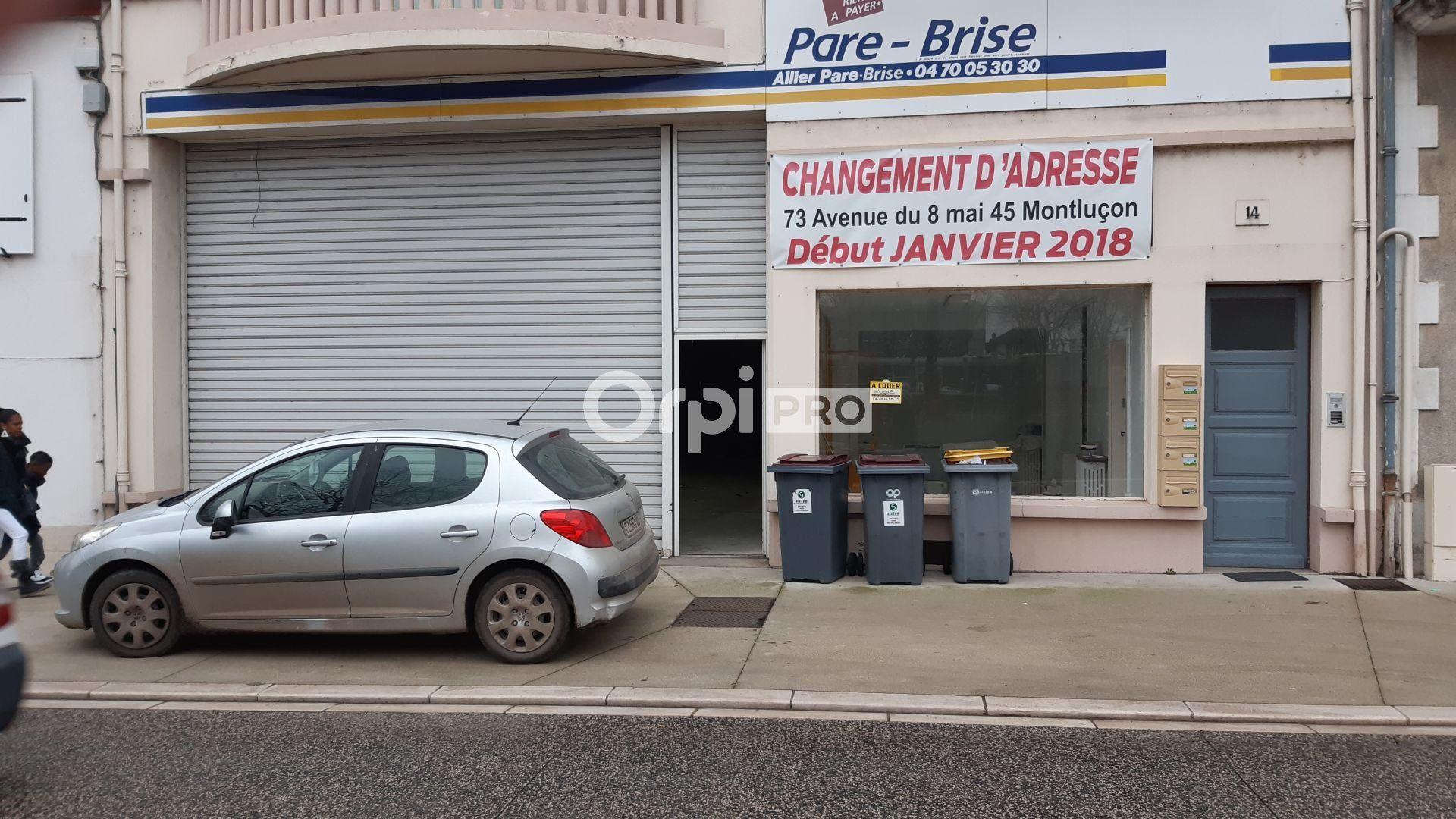 Local commercial à louer 370m2 à Montluçon