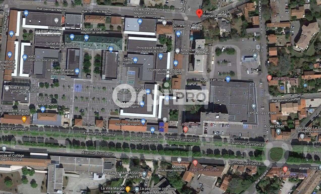 Bureau à vendre 110m2 à Romans-sur-Isère