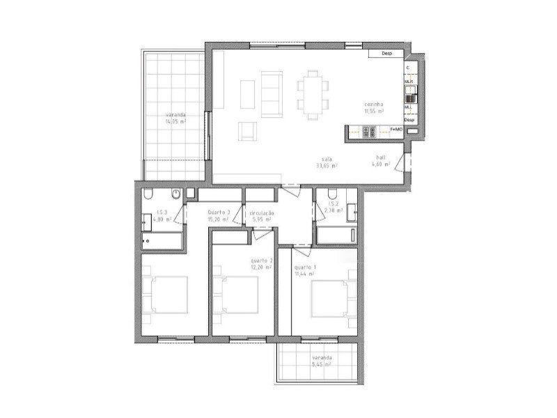 Appartement à vendre 4 158.5m2 à Portimão vignette-14