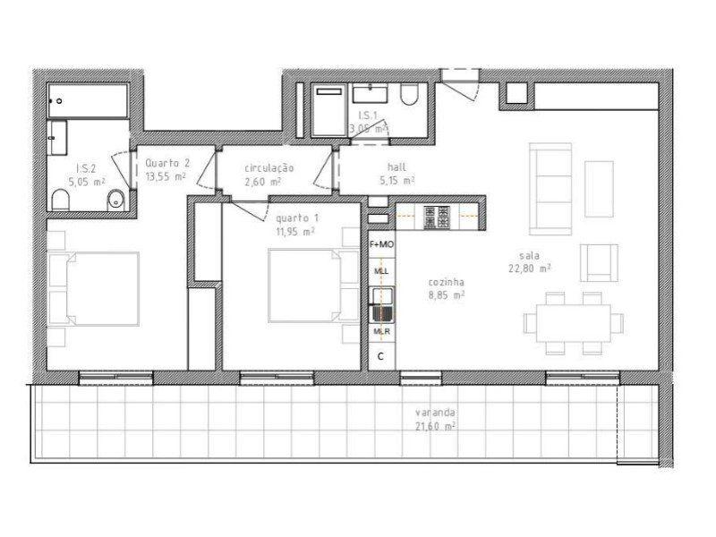 Appartement à vendre 3 109.1m2 à Portimão vignette-11