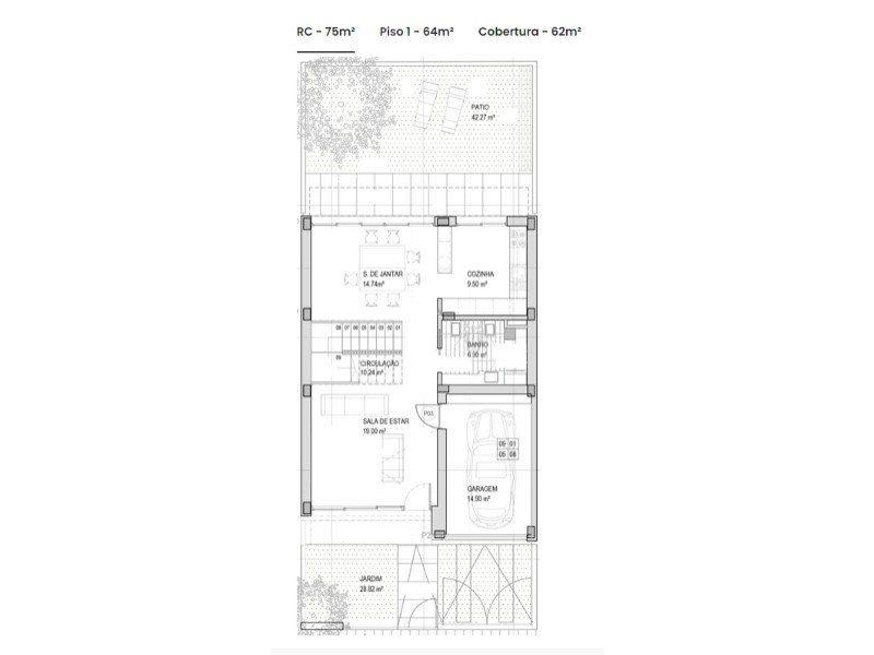 Maison à vendre 4 170m2 à Olhão vignette-7