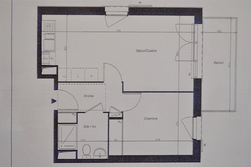 Appartement à vendre 2 42m2 à Longperrier vignette-1