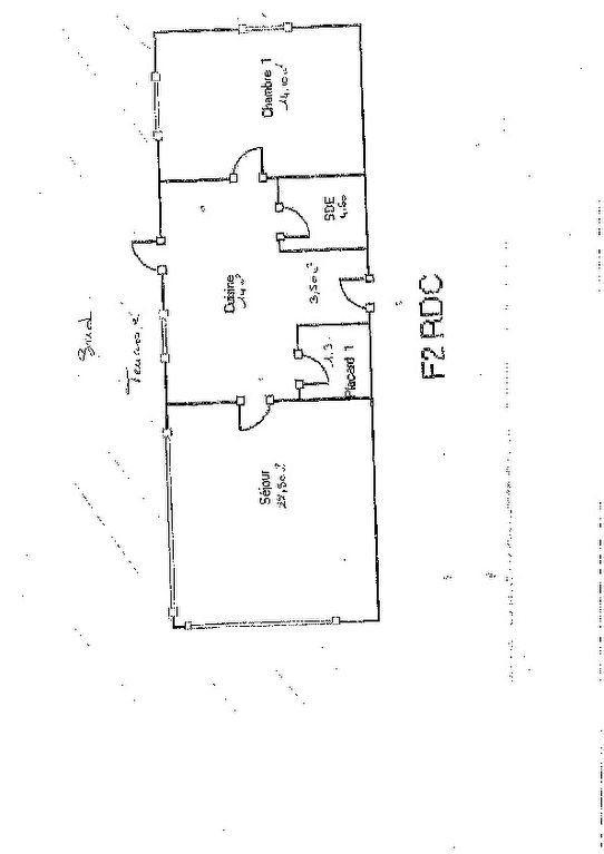 Appartement à louer 58.7m2 à Brive-la-Gaillarde