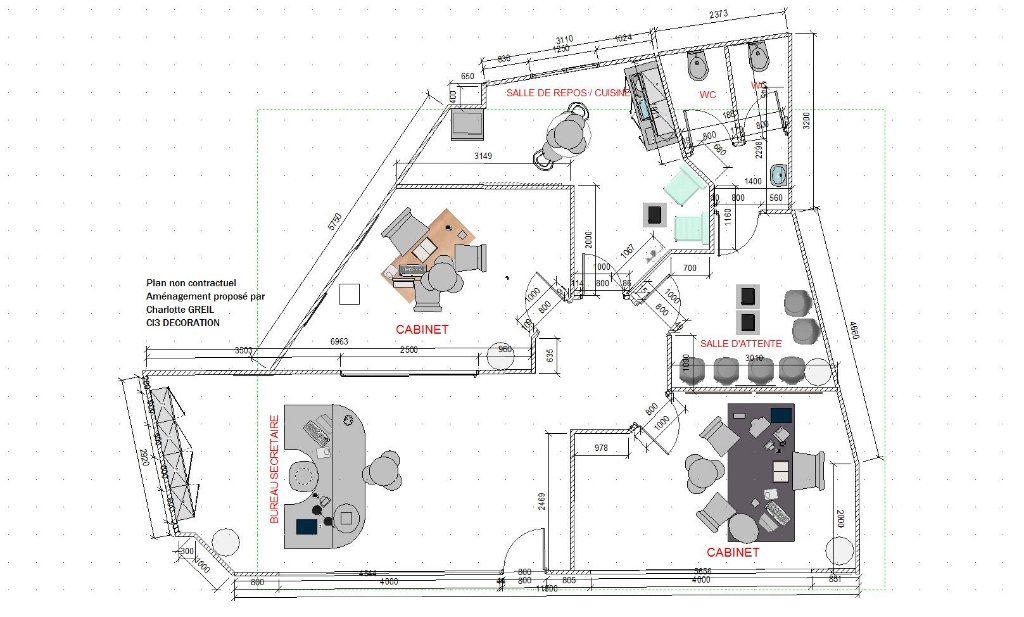 Local commercial à louer 0 80m2 à Montluçon plan-2