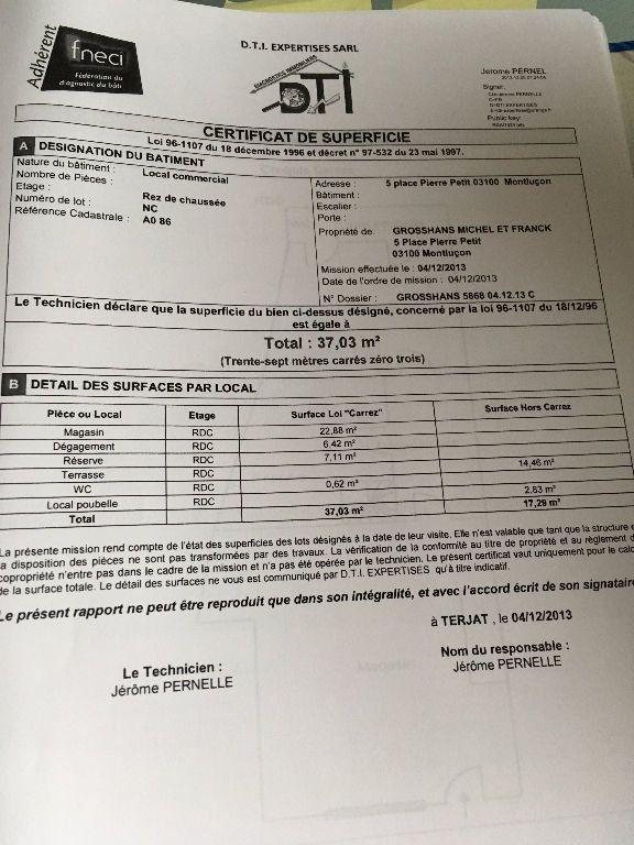 Maison à vendre 4 107m2 à Montluçon plan-2