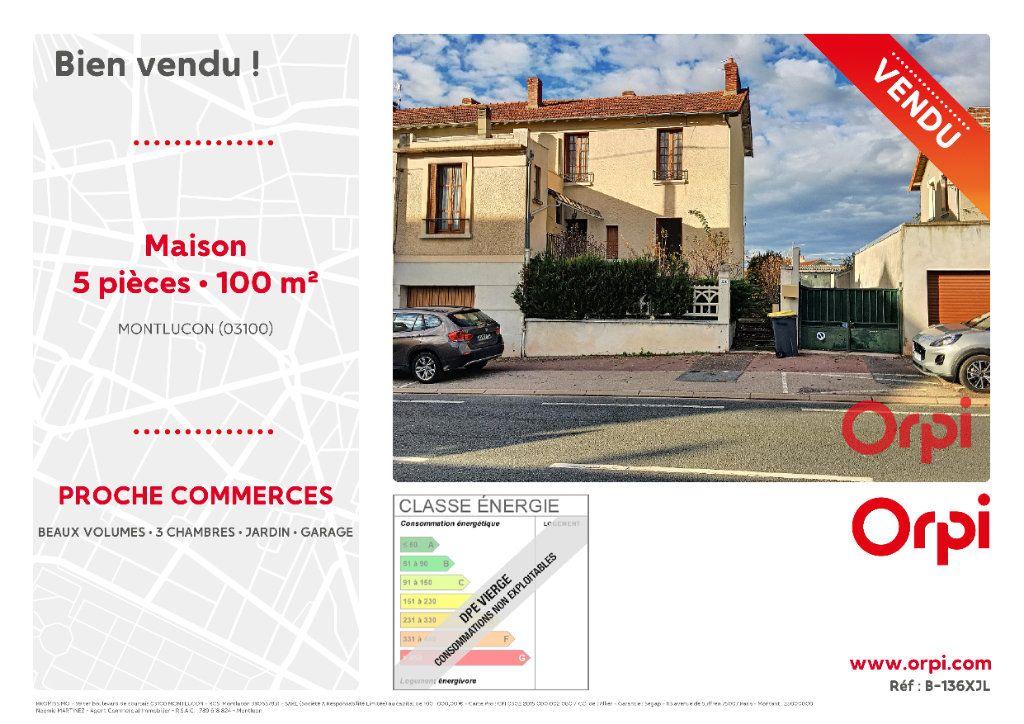 Maison à vendre 5 100m2 à Montluçon vignette-2