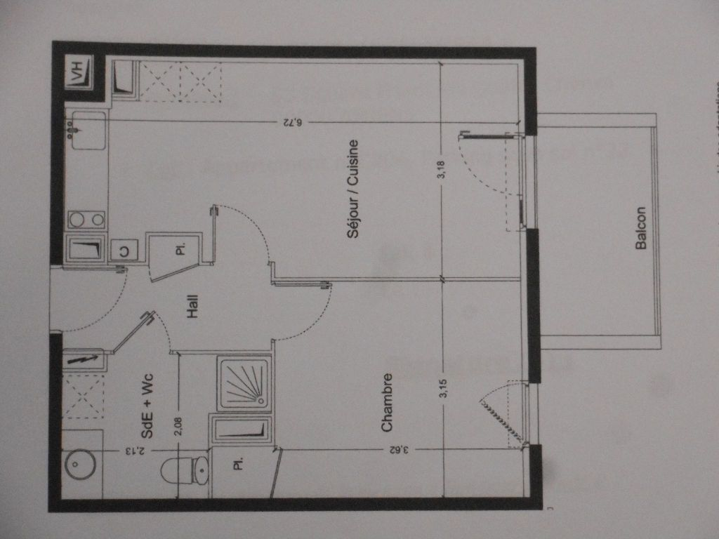 Appartement à louer 2 40.6m2 à Amiens vignette-9