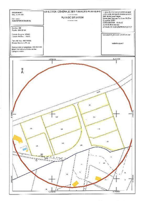 Terrain à vendre 0 2401m2 à Saint-Priest-Taurion vignette-2