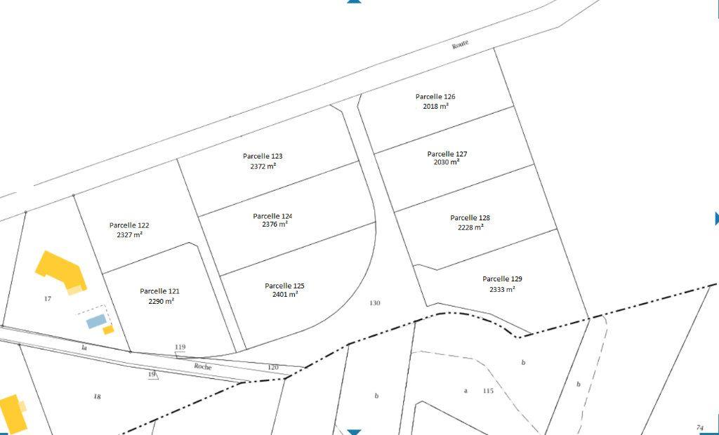 Terrain à vendre 0 2401m2 à Saint-Priest-Taurion vignette-3