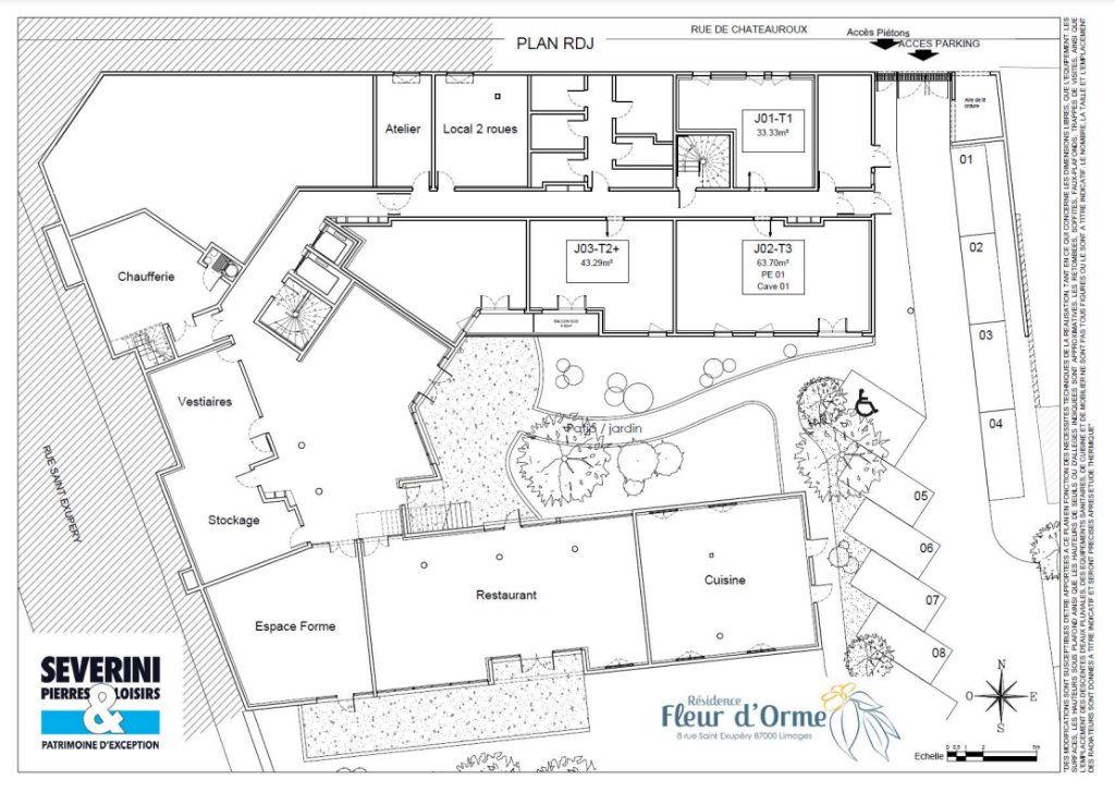 Appartement à vendre 3 63.7m2 à Limoges vignette-7