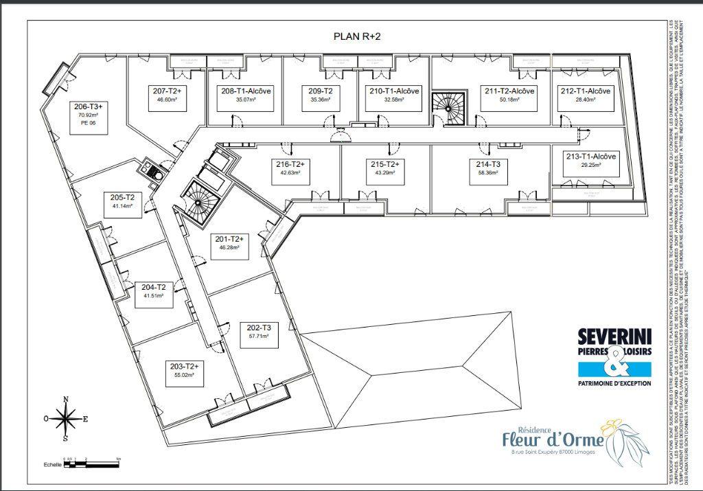 Appartement à vendre 3 70.92m2 à Limoges vignette-7