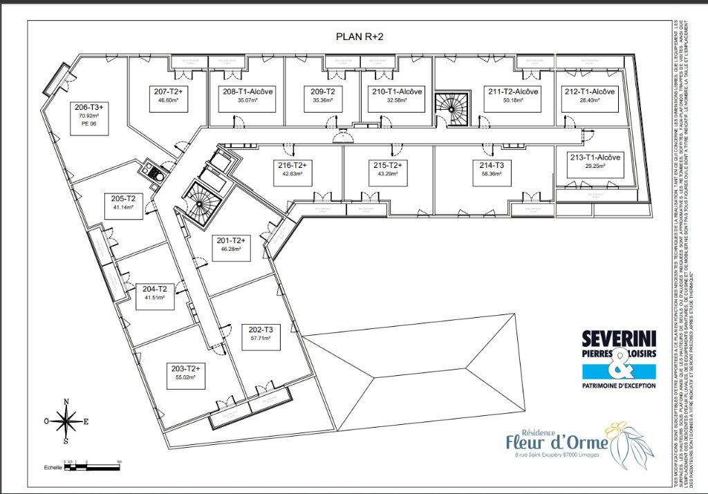 Appartement à vendre 2 46.6m2 à Limoges vignette-7