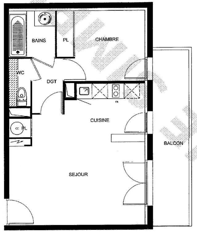 Appartement à vendre 2 42.9m2 à Les Andelys vignette-7