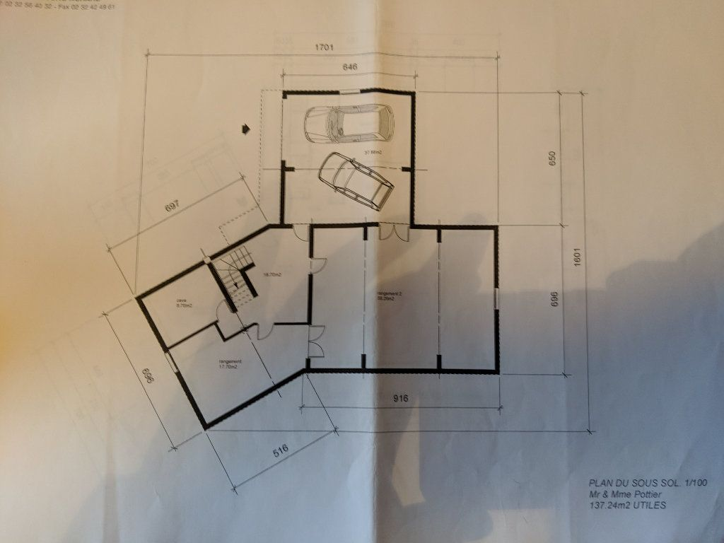 Maison à vendre 8 250m2 à Saint-Aquilin-de-Pacy plan-1