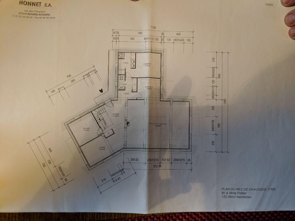 Maison à vendre 8 250m2 à Saint-Aquilin-de-Pacy plan-2