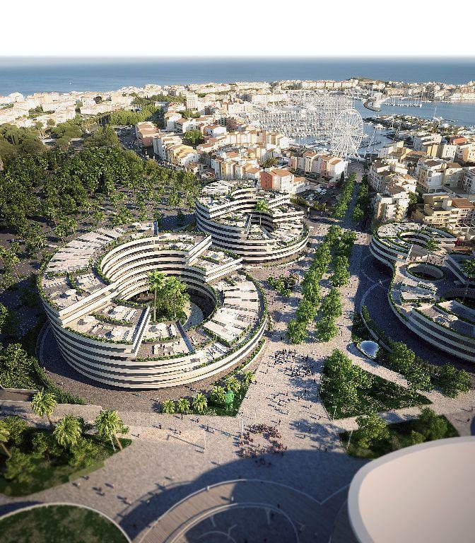 Appartement à vendre 3 55.4m2 à Le Cap d'Agde - Agde vignette-7