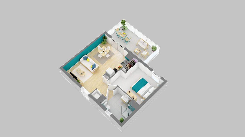 Appartement à vendre 2 41.45m2 à Béziers vignette-3