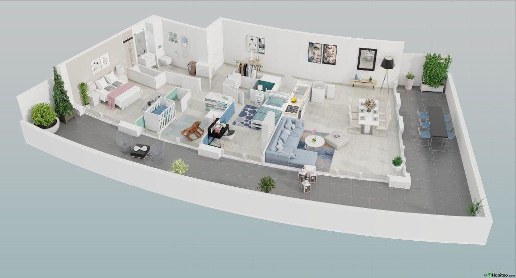 Appartement à vendre 4 87.55m2 à Le Cap d'Agde - Agde vignette-1