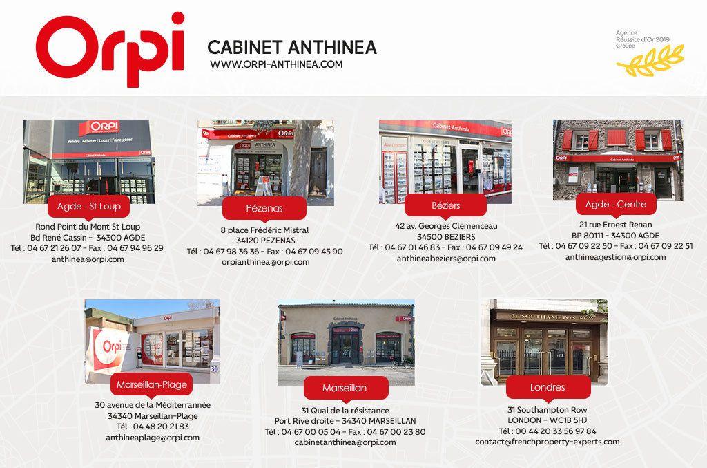 Maison à vendre 6 205m2 à Le Cap d'Agde - Agde vignette-9
