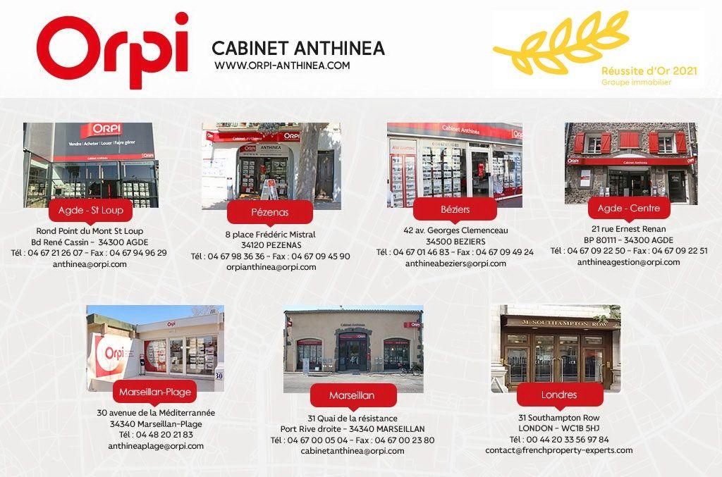Appartement à vendre 5 230m2 à Le Cap d'Agde - Agde vignette-15