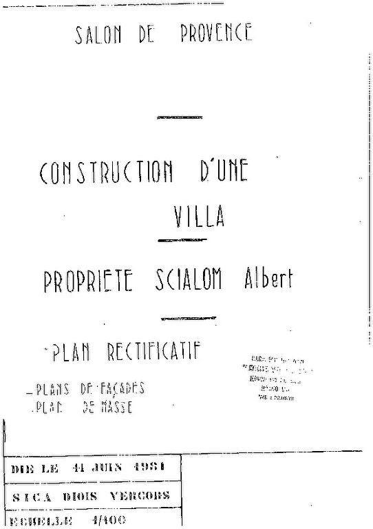 Maison à vendre 6 183m2 à Salon-de-Provence plan-1