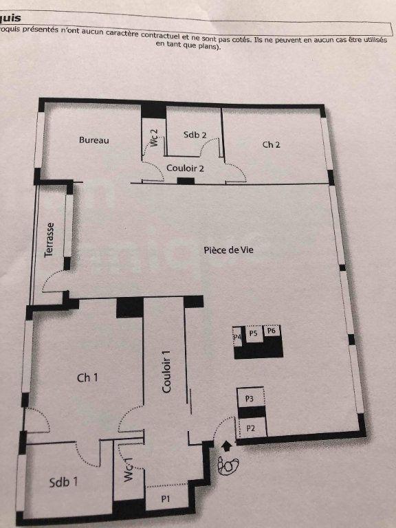 Appartement à vendre 4 118.38m2 à Roubaix plan-1