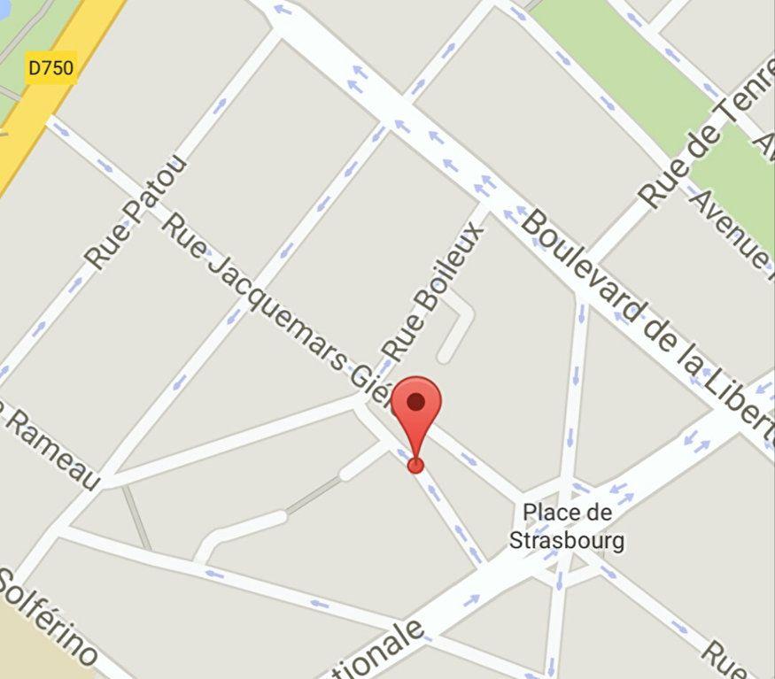 Stationnement à louer 0 10m2 à Lille vignette-1