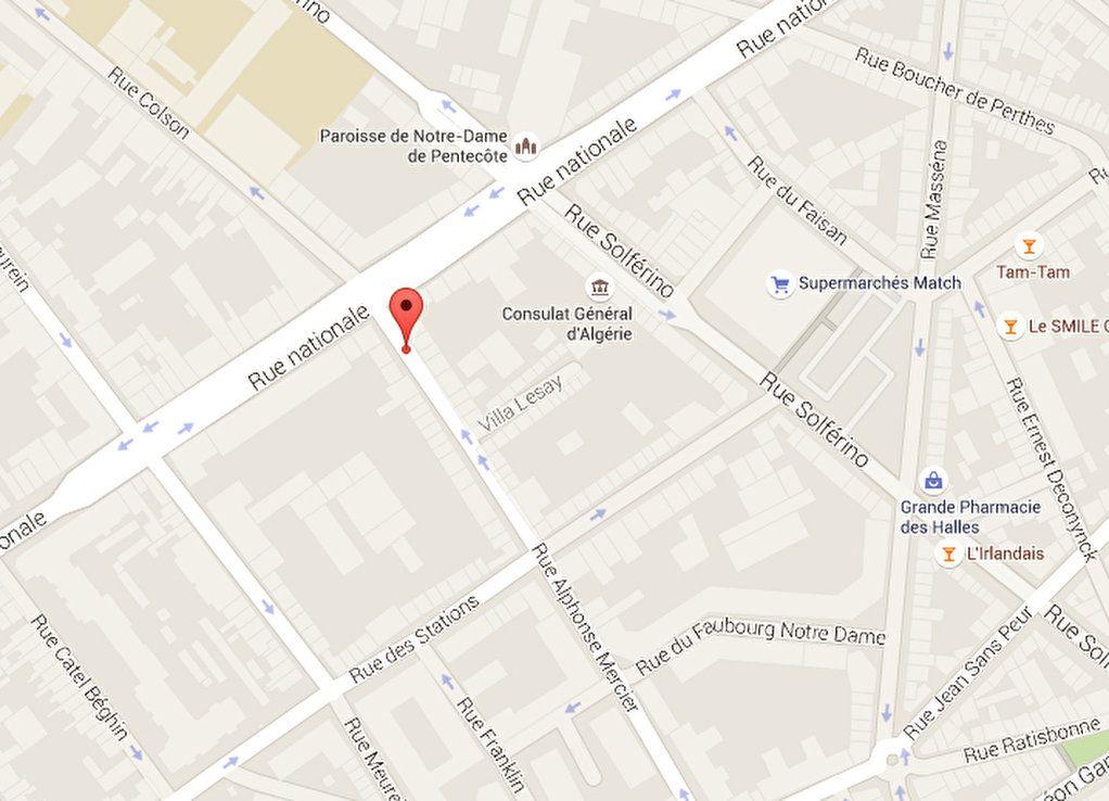 Stationnement à louer 0 15m2 à Lille vignette-1