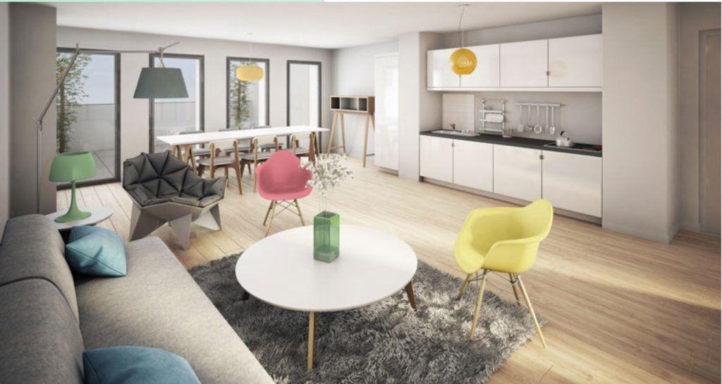 Appartement à vendre 2 42.21m2 à Lille vignette-3