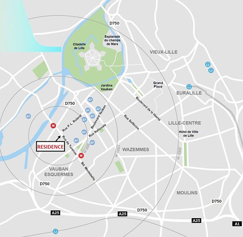 Appartement à vendre 2 42.21m2 à Lille vignette-4