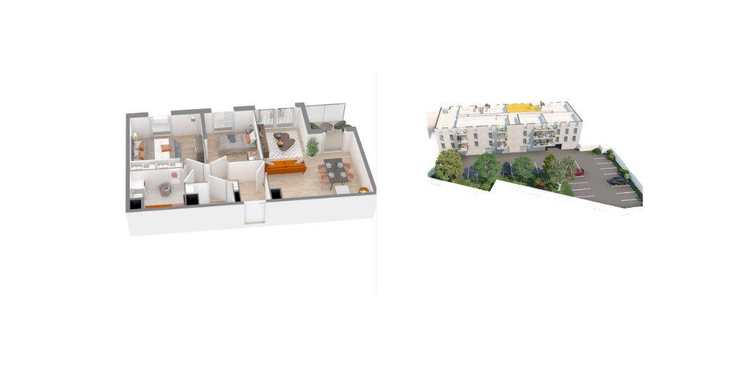 Appartement à vendre 3 58.6m2 à Roubaix vignette-2