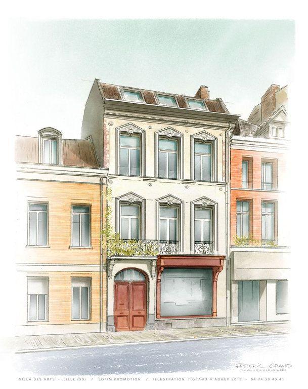Appartement à vendre 3 73.3m2 à Lille vignette-1