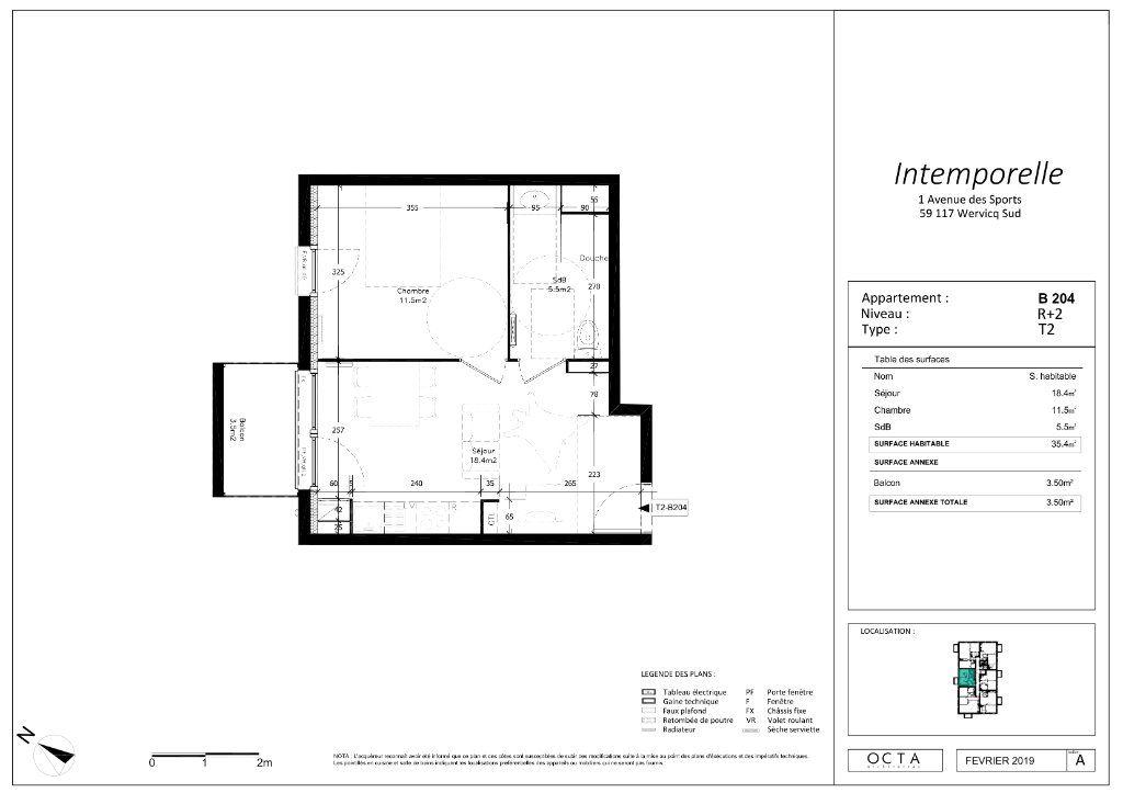Appartement à vendre 2 35.4m2 à Wervicq-Sud vignette-4
