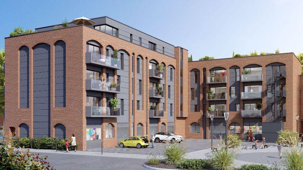 Appartement à vendre 2 38.4m2 à Villeneuve-d'Ascq vignette-1