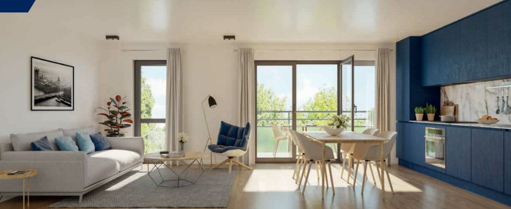 Appartement à vendre 4 92.9m2 à Lille vignette-1