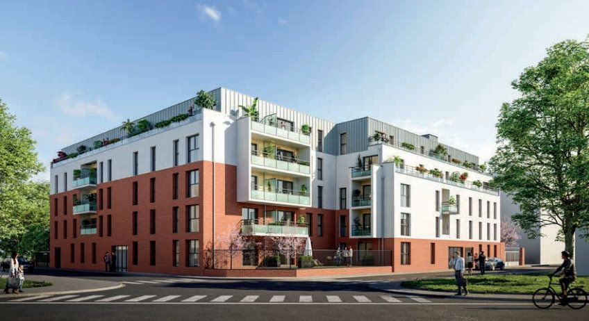 Appartement à vendre 2 51.5m2 à Lille vignette-1