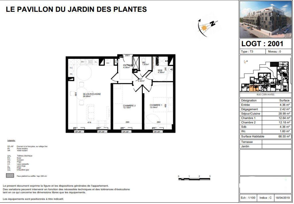 Appartement à vendre 3 66.55m2 à Lille vignette-6