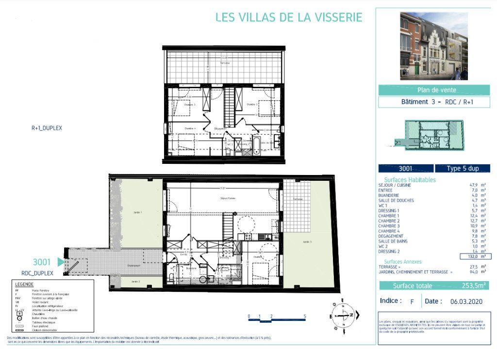 Maison à vendre 5 132m2 à Lille vignette-2