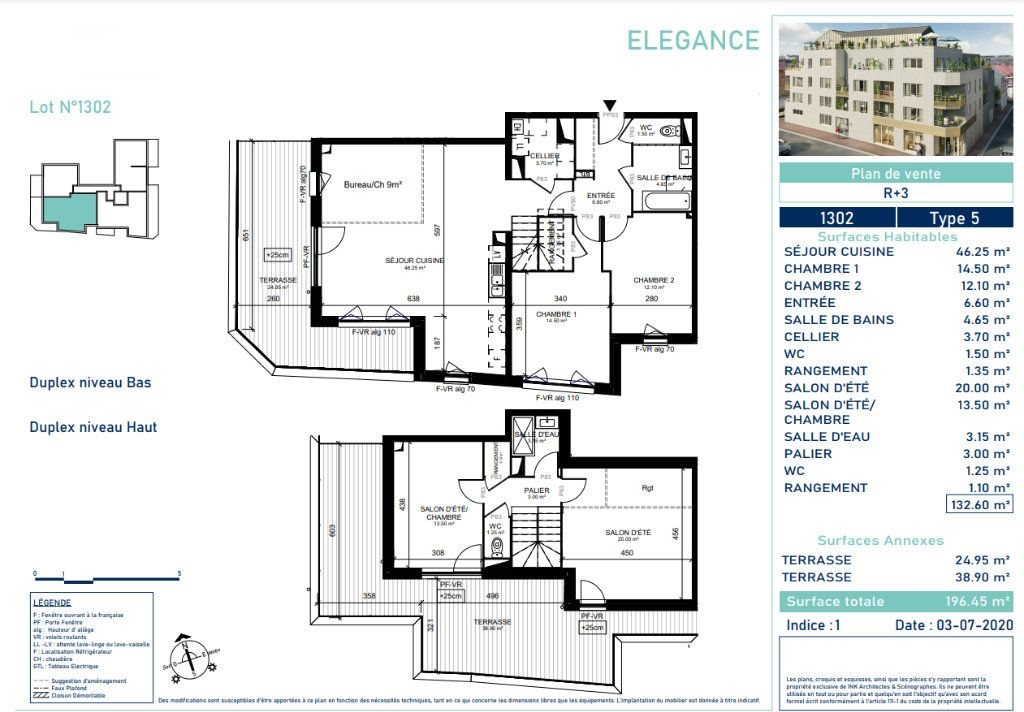 Appartement à vendre 5 130.3m2 à Marcq-en-Baroeul vignette-4