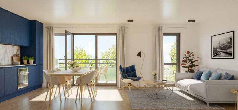 Appartement à vendre 2 51.15m2 à Quesnoy-sur-Deûle vignette-1