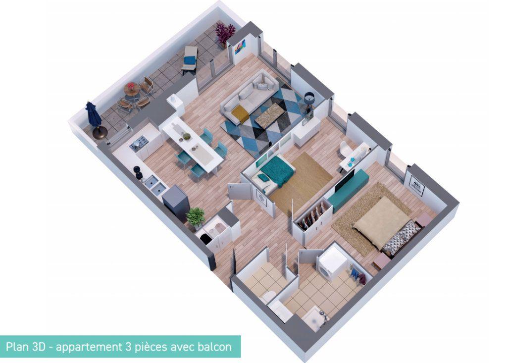 Appartement à vendre 3 63.18m2 à Bailleul vignette-3