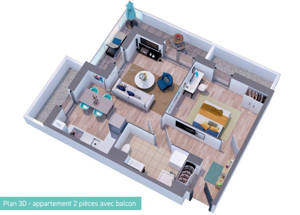 Appartement à vendre 2 42.21m2 à Bailleul vignette-3