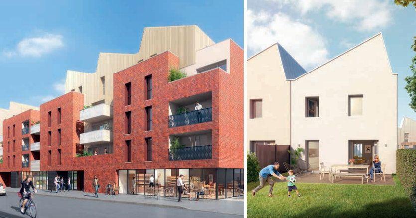 Appartement à vendre 2 40.34m2 à Tourcoing vignette-1