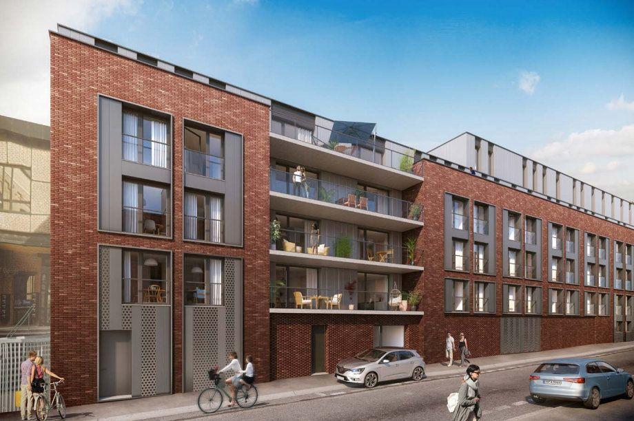 Appartement à vendre 2 41.5m2 à Roubaix vignette-2