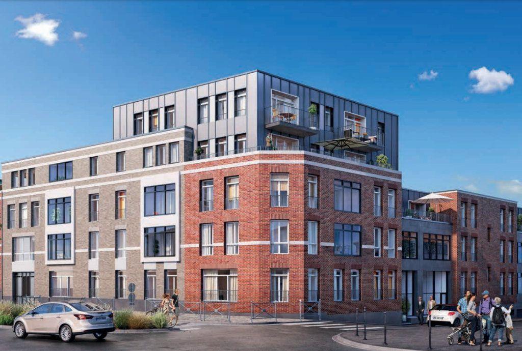 Appartement à vendre 3 60.83m2 à Roubaix vignette-1