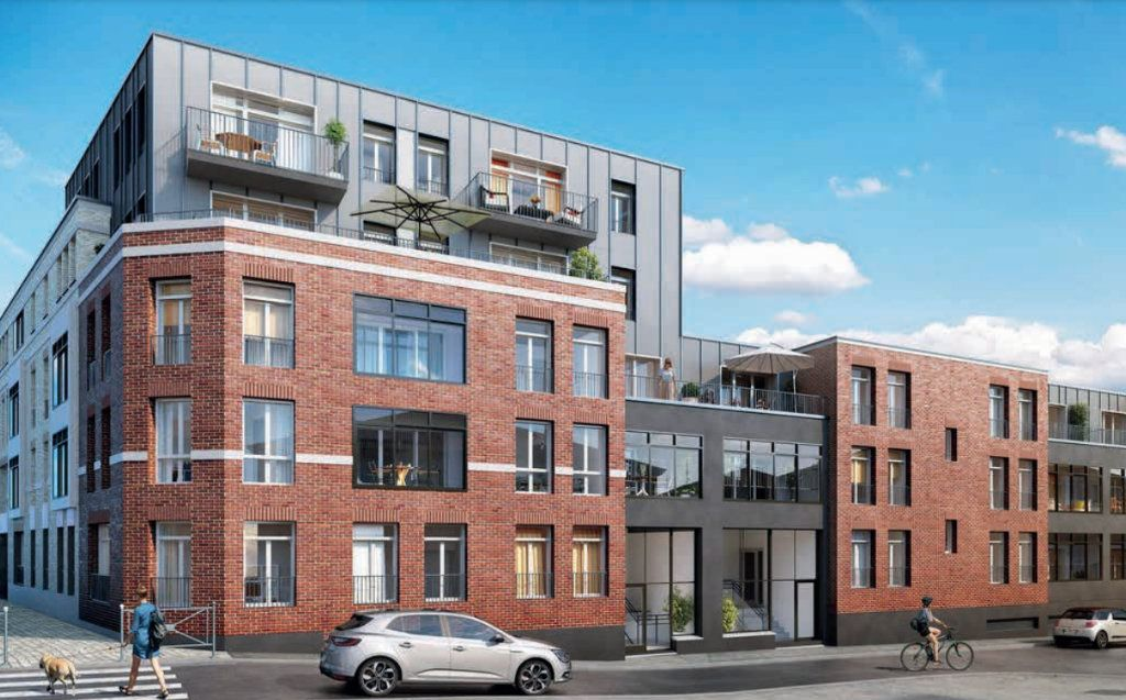 Appartement à vendre 3 60.83m2 à Roubaix vignette-3