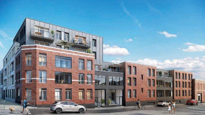 Appartement à vendre 2 49.01m2 à Roubaix vignette-2