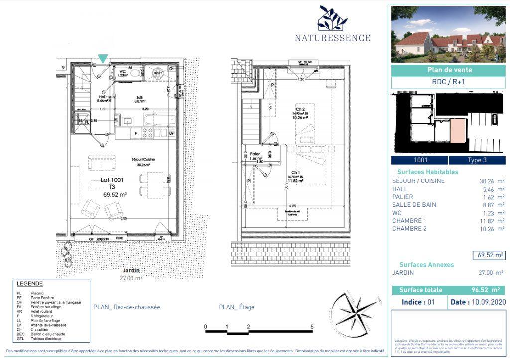 Maison à vendre 3 69.18m2 à Sainghin-en-Weppes vignette-4