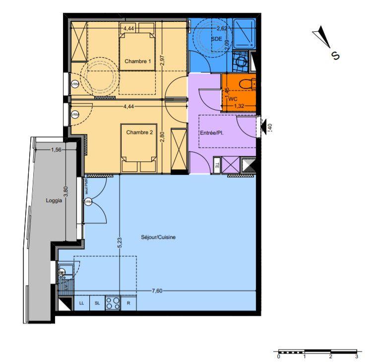 Appartement à vendre 3 60.75m2 à Castelnau-le-Lez vignette-1